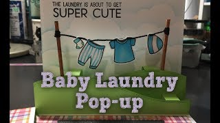 Baby Laundry Pop-Up for Not2Shabby Shop