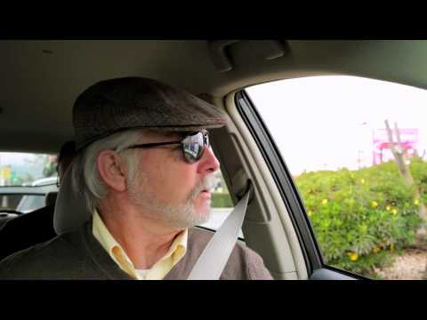 Self-Driving Car Test: Steve Mahan (Audio Described)