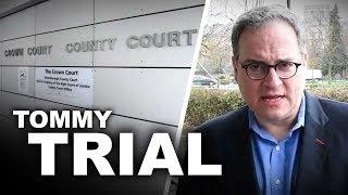 """I'm angry"": Police treatment of Tommy Robinson shocks Ezra Levant"