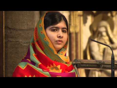 Malala Yousafzai's address- Commonwealth Day 2014