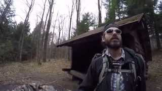 3 day Backpacking overnight trip  Finger lakes Great Northern Trail day 3