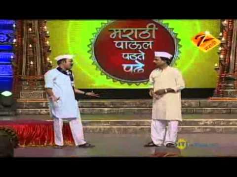 Marathi Paul Padte Pudhe Grand Finale June 05 '11 - Makrand Anaspure & Siddheshwar video