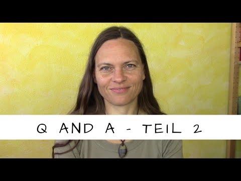 Q and A 2! Kinder, Job, Deo, Rasieren, Sport, Entgiften, Wiedergeburt ...
