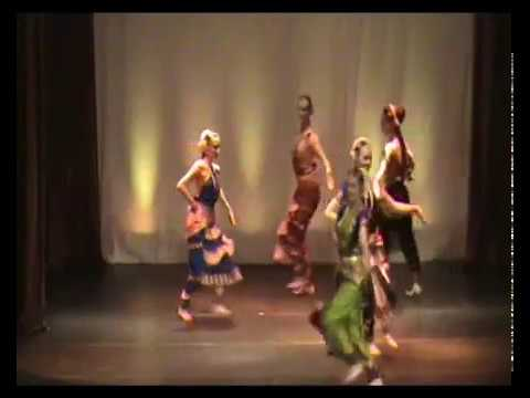 Song On Krishna - Bharatanatyam Dance video