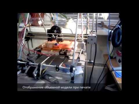 Тестирование 3D принтера Prusa Mendel I2