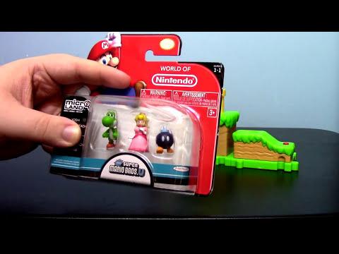 JAKKS Pacific World of Nintendo Super Mario Acorn Plains Micro Land Playset Toy Review