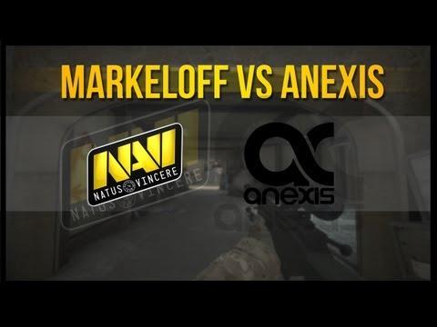 markeloff vs Anexis @ Fnatic FragOut League