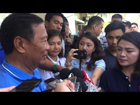 Binay 'hurt' by Inquirer report on AMLC findings