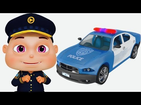 Five Little Babies Dressed As Police (Single) | Zool Babies Fun Songs | Videogyan 3D Rhymes