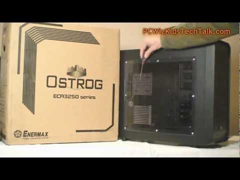 ENERMAX OSTROG ECA3253-BL Black ATX Mid Tower Case Review - PCWizKid
