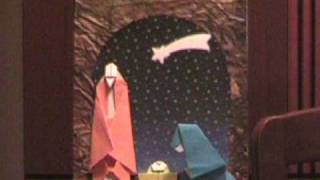 Origami Nativity 4 Of 4 - The Nativity Scene - ...and Origami Christmas For All - 28