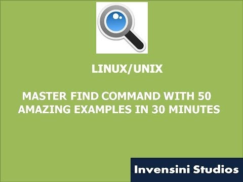 50 Amazing Examples Of Find Command video
