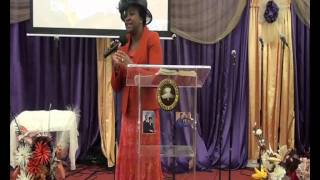 Pastor Mrs Shitta at RCCG EFA Leeds