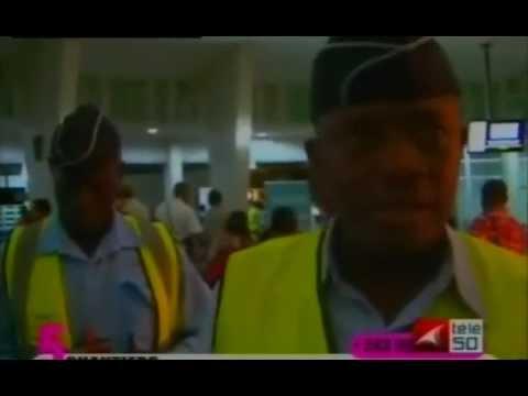 La modernisation de l aéroport de N'Ndili.