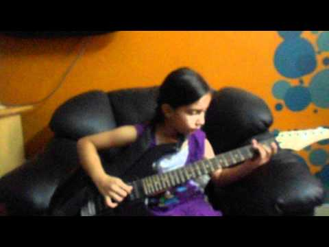Neele neele ambar par chand jab aaye instrumental guitar Aditi...