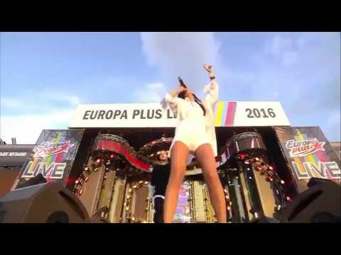 Елена Темникова  - Наверно (feat  Natan), Импульсы, Улетаем, Тепло - Еuropa Plus Live 2016