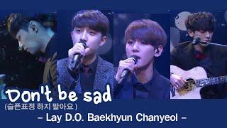 [ThaiSub+Karaoke] Don't be sad - EXO (Lay D.O BH CY)