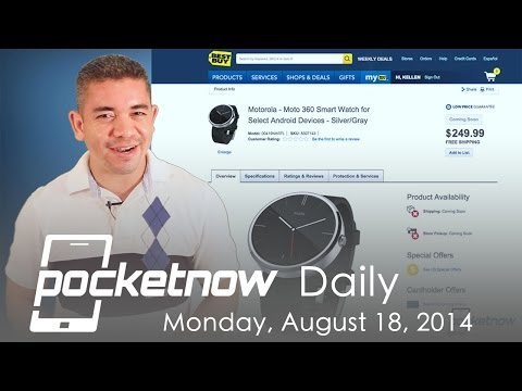 Moto 360 price, iPhone 6 RAM, Sony Compact Tablet & more - Pocketnow Daily