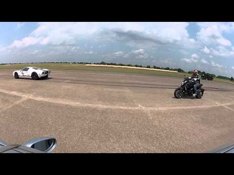 Texas Speed Syndicate: Porsche Turbo (900hp)  vs Ford GT (1100hp) roll