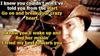 Mike Malak & The Fakers - Crazy Heart (Hank Williams, cover song, lyrics)