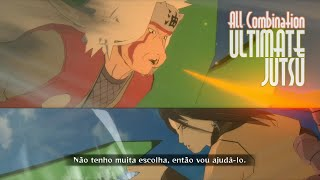 Naruto STORM Revolution™ Ultimate Jutsu Combinado de Todos Personagens (All Characters Combination)