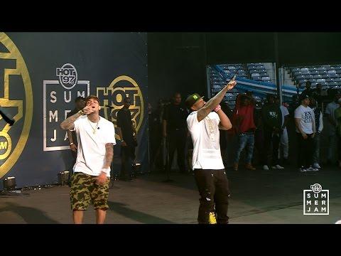 Chris Brown at Summer Jam 2015