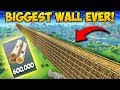 *FIRST EVER* Wall Across the ENTIRE MAP! - Fortnite Funny Fails and WTF Moments! #292 thumbnail