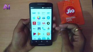 How to Activate Reliance Jio SIM in Moto X Play