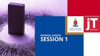 JuniorTukkie Winter School Physical Science Session 1