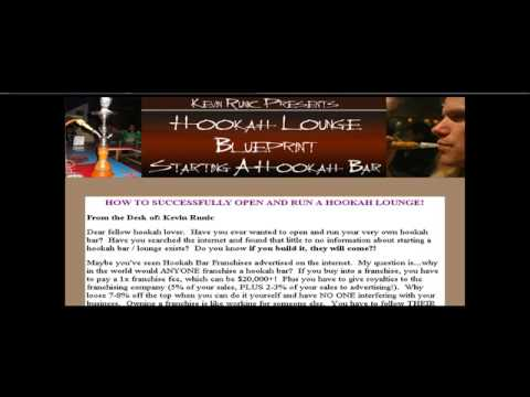 Hookah Bar Blueprint  Learn How To Start A Hookah Bar video