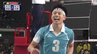 準決勝ダイジェスト 男子準決勝 鎮西(熊本)vs清風(大阪)