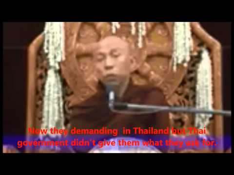 a Burmese Buddhist Extremist Monk video