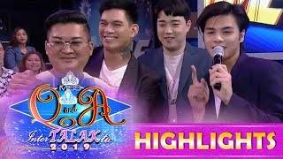 It's Showtime Miss Q & A: Ryan Bang becomes Zeus and Ronnie's translator