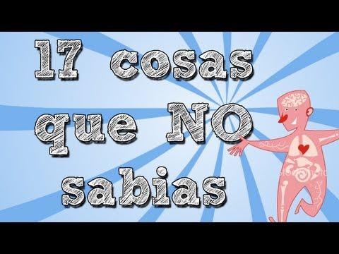 17 COSAS QUE NO SABIAS DE TU CUERPO