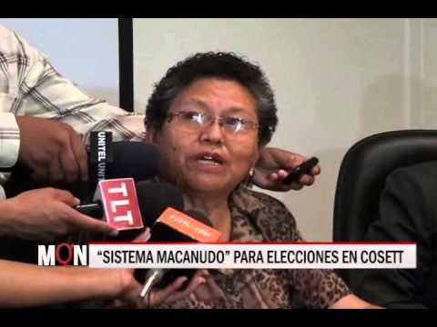 "16/12/2014-18:46 ""SISTEMA MACANUDO"" PARA ELECCIONES EN COSETT"