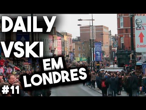 DAILY VSKI 'EM LONDRES '#11 CAMDEN TOWN É BRUTAL ! :D