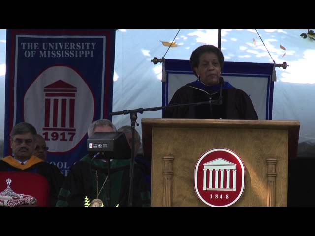 Myrlie Evers-Williams 2013 Commencement Speaker