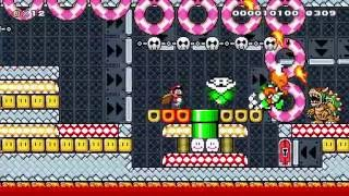 SMB2 Boss Rush by Adell - SUPER MARIO MAKER - No Commentary 一
