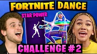 FORTNITE DANCE CHALLENGE! #2
