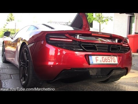 Mclaren MP4-12C LOUD Rev and Accelerations!