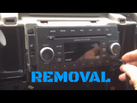 4th gen (2009-2012) Dodge Ram radio removal HD