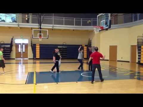 Basketball with XY Unlimited at Marshalltown Community College Part 2