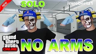 GTA 5 Online - Best Solo No Arms Glitch! Invisible Arms! GTA 5 Glitches!