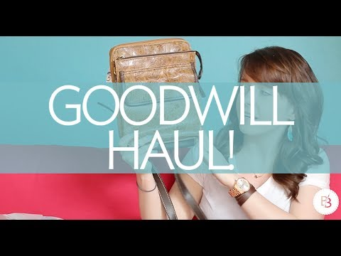 Goodwill HAUL | Broke But Bougie
