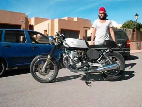 Moto guzzi 750 cafe racer nevada epoca antigua clasica for Epoca clasica