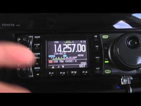 How to adjust ICOM 7000 TBW Audio