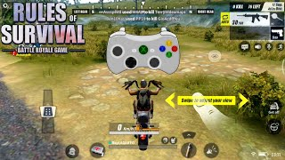 Rules of Survival with Gamepad   Scheme and Best Settings   8x8 Map 300 Mode Link