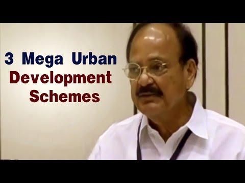 Venkaiah Naidu Speech at Urban Development Schemes launch | Housing For All | Smart Cities | AMRUT