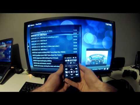 Raspberry Pi XBMC Remote