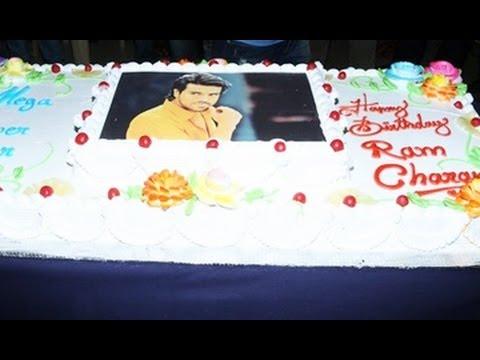 Ram Charan Birthday Celebrations 2013